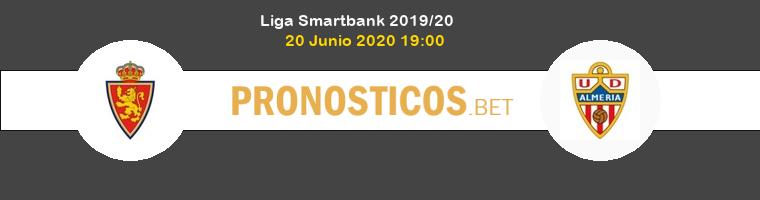 Zaragoza Almería Pronostico 20/06/2020 1