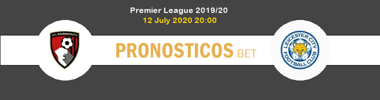 AFC Bournemouth Leicester Pronostico 12/07/2020 1