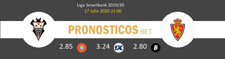 Albacete Zaragoza Pronostico 17/07/2020 1