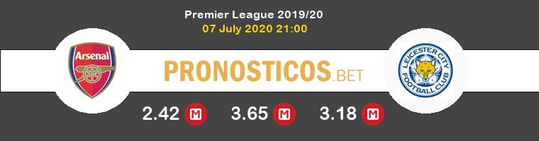 Arsenal Leicester Pronostico 07/07/2020 1