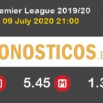Aston Villa Manchester United Pronostico 09/07/2020 2