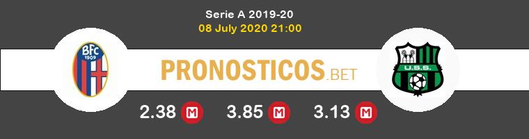 Bologna Sassuolo Calcio Pronostico 08/07/2020 1