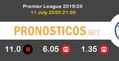 Brighton & Hove Albion Manchester City Pronostico 11/07/2020 4