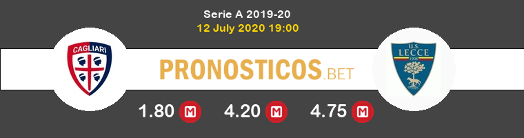 Cagliari Lecce Pronostico 12/07/2020 1