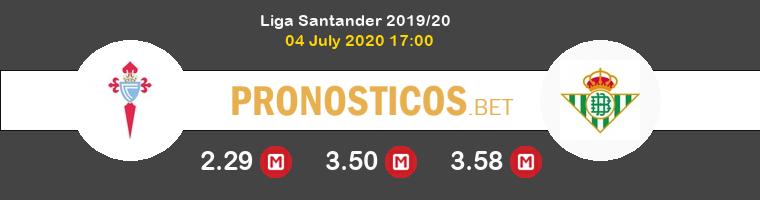 Celta Real Betis Pronostico 04/07/2020 1