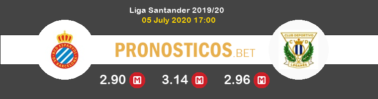 Espanyol Leganés Pronostico 05/07/2020 1