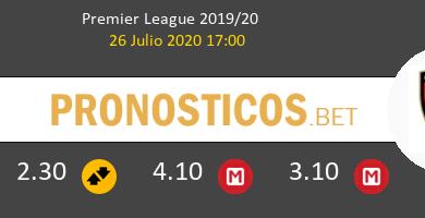 Everton AFC Bournemouth Pronostico 26/07/2020 2