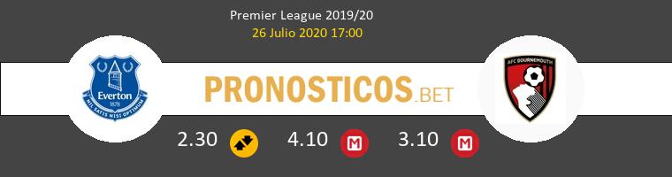 Everton AFC Bournemouth Pronostico 26/07/2020 1