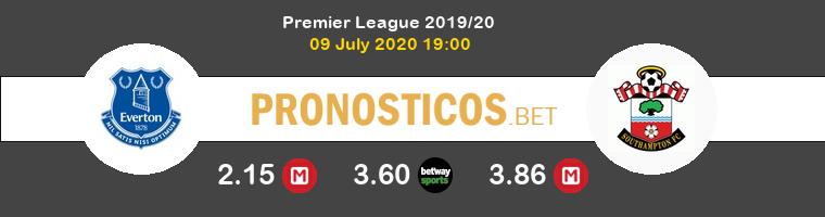 Everton Southampton Pronostico 09/07/2020 1
