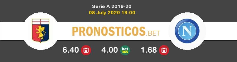 Genoa Nápoles Pronostico 08/07/2020 1