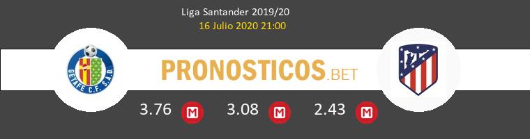 Getafe Atlético de Madrid Pronostico 16/07/2020 1
