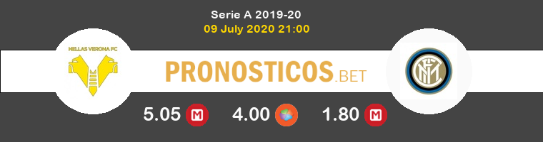 Hellas Verona Inter Pronostico 09/07/2020 1