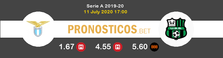 Lazio Sassuolo Calcio Pronostico 11/07/2020 1