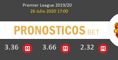 Leicester Manchester United Pronostico 26/07/2020 1