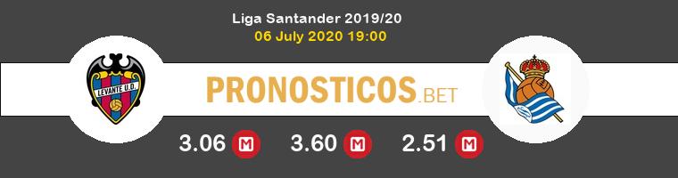 Levante Real Sociedad Pronostico 06/07/2020 1