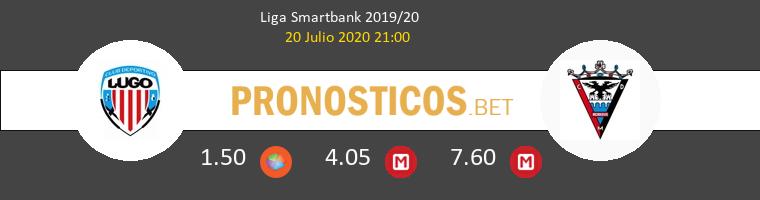 Lugo Mirandés Pronostico 20/07/2020 1