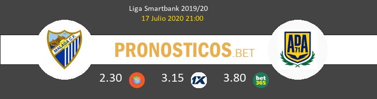 Málaga Alcorcón Pronostico 17/07/2020 1