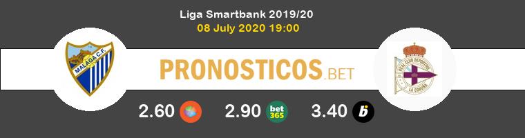Málaga Deportivo Pronostico 08/07/2020 1