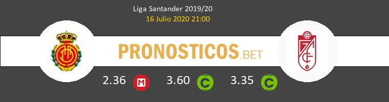 Mallorca Granada CF Pronostico 16/07/2020 1