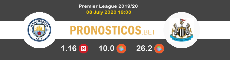 Manchester City Newcastle Pronostico 08/07/2020 1