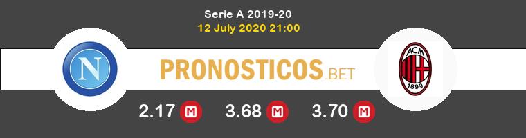 Nápoles AC Milan Pronostico 12/07/2020 1