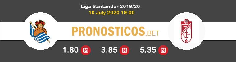 Real Sociedad Granada Pronostico 10/07/2020 1