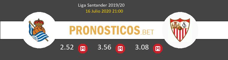 Real Sociedad Sevilla Pronostico 16/07/2020 1