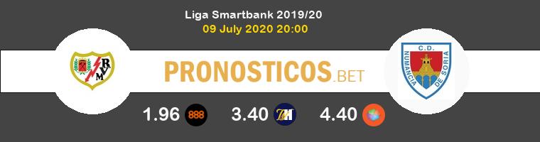 Rayo Vallecano Numancia Pronostico 09/07/2020 1