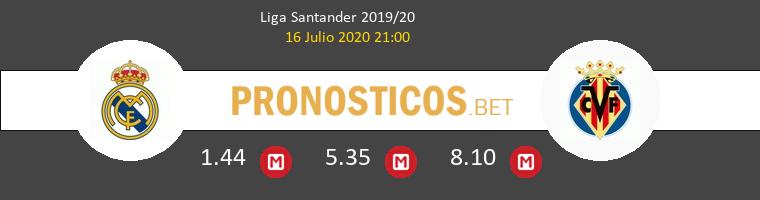 Real Madrid Villarreal Pronostico 16/07/2020 1