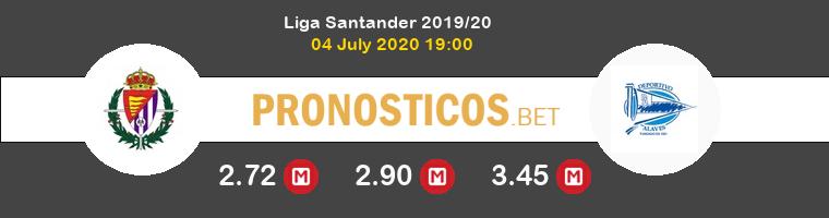 Real Valladolid Alavés Pronostico 04/07/2020 1