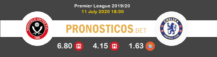 Sheffield United Chelsea Pronostico 11/07/2020 1
