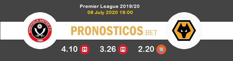 Sheffield United Wolverhampton Wanderers Pronostico 08/07/2020 1