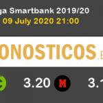 Tenerife Zaragoza Pronostico 09/07/2020 2