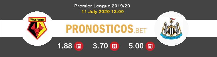 Watford Newcastle Pronostico 11/07/2020 1