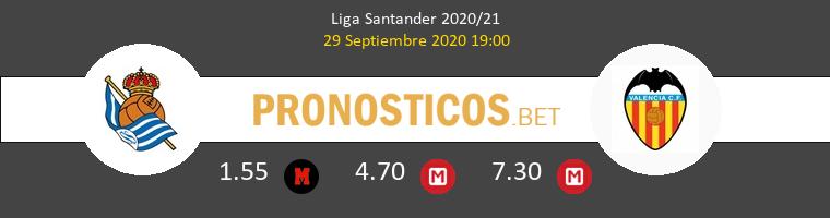 Real Sociedad Valencia Pronostico 29/09/2020 1