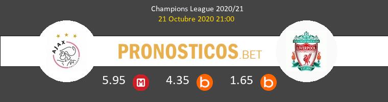 Ajax Liverpool Pronostico 21/10/2020 1