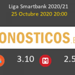 Albacete vs Rayo Vallecano Pronostico (25 Oct 2020) 3