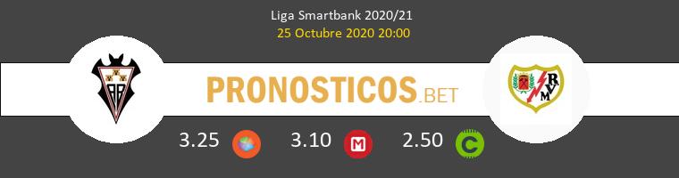 Albacete vs Rayo Vallecano Pronostico (25 Oct 2020) 1