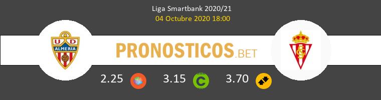 Almería Real Sporting Pronostico 04/10/2020 1