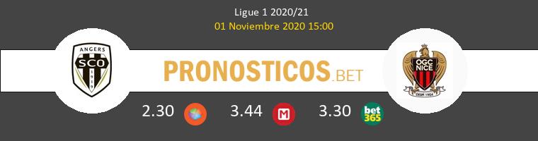 Angers SCO vs Nice Pronostico (1 Nov 2020) 1