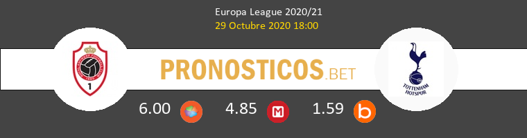 Antwerp vs Tottenham Hotspur Pronostico (29 Oct 2020) 1