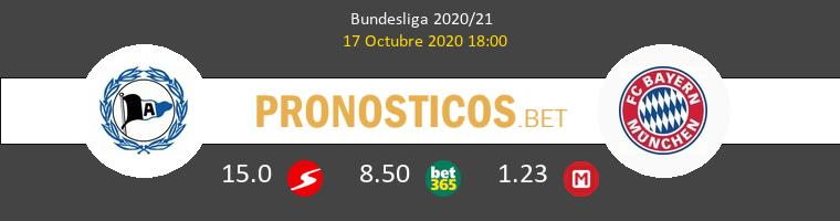 Arminia Bielefeld Bayern Pronostico 17/10/2020 1