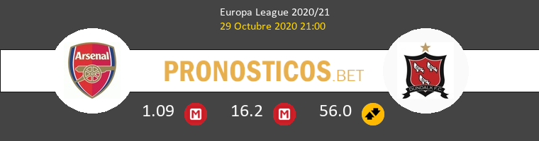 Arsenal vs Dundalk Pronostico (29 Oct 2020) 1