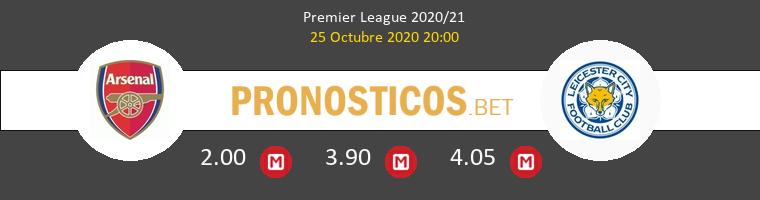 Arsenal Leicester Pronostico 25/10/2020 1