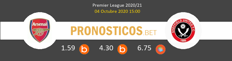 Arsenal Sheffield Pronostico 04/10/2020 1