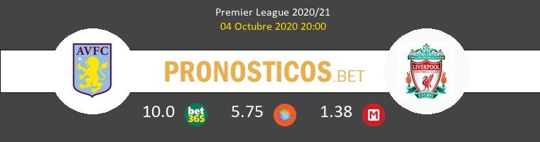 Aston Villa Liverpool Pronostico 04/10/2020 1