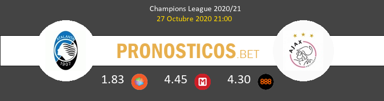 Atalanta vs Ajax Pronostico (27 Oct 2020) 1