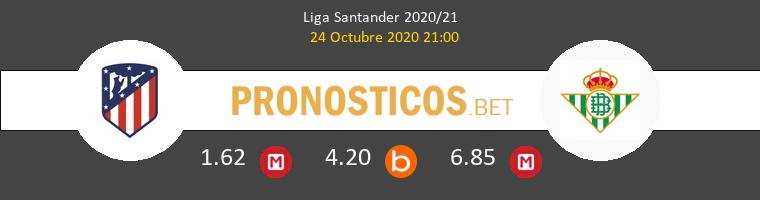 Atlético de Madrid Real Betis Pronostico 24/10/2020 1