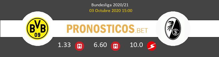 Borussia SC Freiburg Pronostico 03/10/2020 1