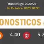 Leverkusen FC Augsburgo Pronostico 26/10/2020 2
